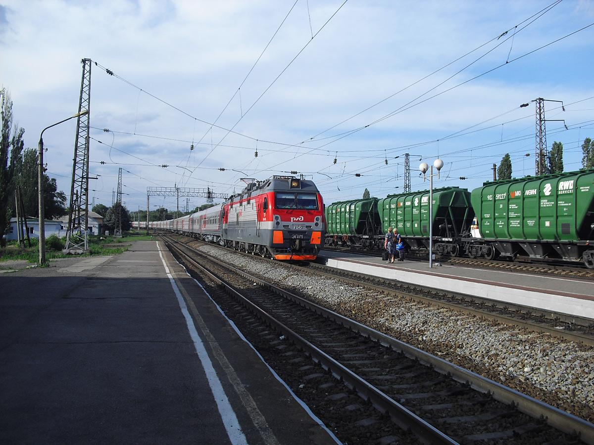 Шахты. ЭП1М-756