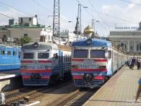 Одесса. ЭР9Т-733, ЭР9Е-642