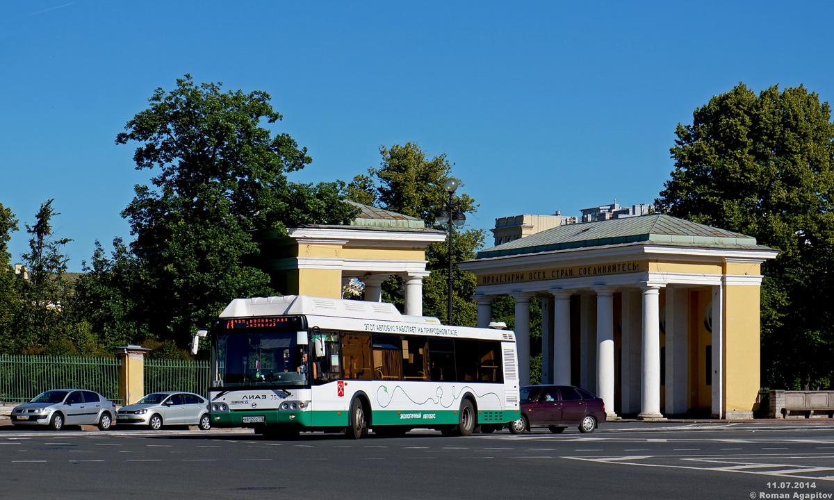 Санкт-Петербург. ЛиАЗ-5292.71 в812со