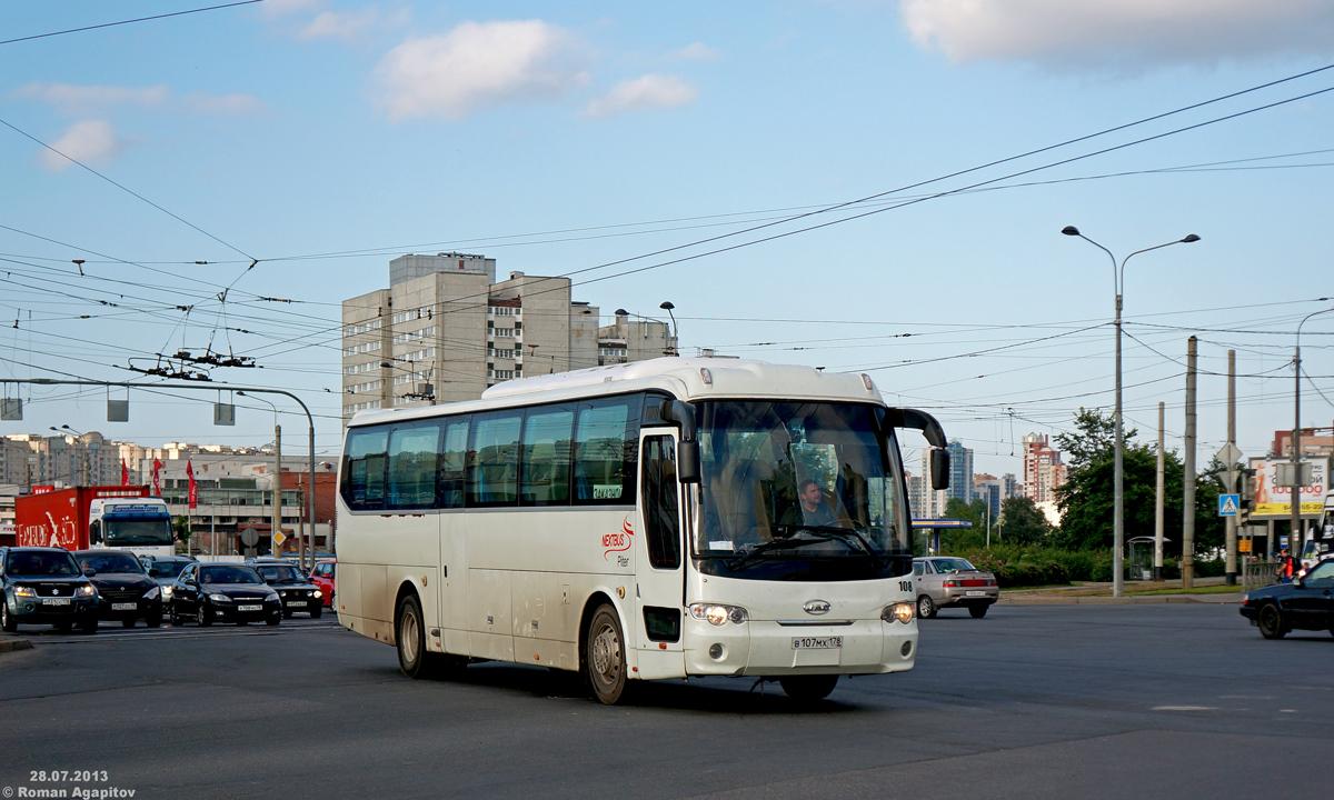 Санкт-Петербург. JAC HK6120 в107мх