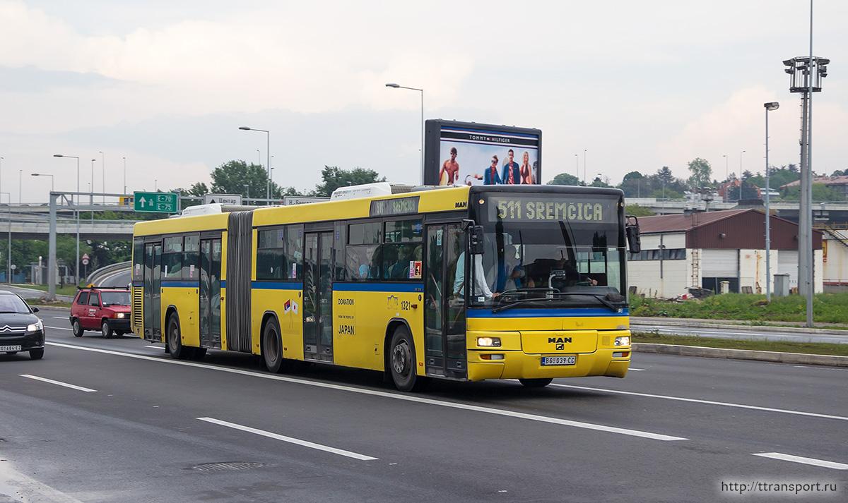 Белград. MAN A75 Lion's Classic G SG313 BG 039-ČC