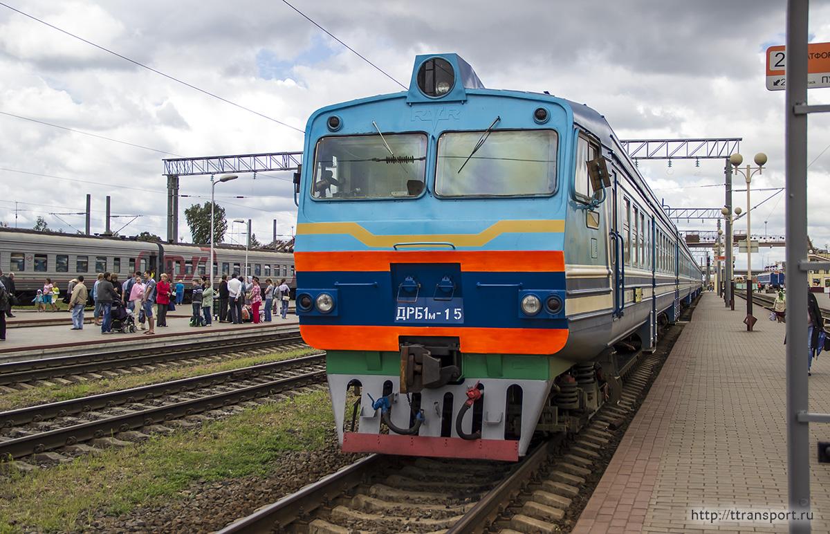 Жлобин. ДРБ1м-15