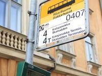Хельсинки. Аншлаг трамвайной остановки Ritarihuone («Палата лордов»)