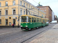 Хельсинки. Трамвай Valmet Nr II № 87, маршрут 7B