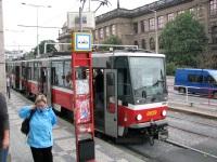 Прага. Tatra T6A5 №8629
