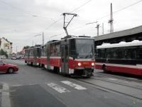 Прага. Tatra T6A5 №8653
