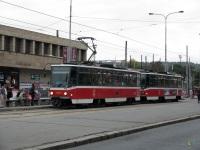 Прага. Tatra T6A5 №8687, Tatra T6A5 №8688