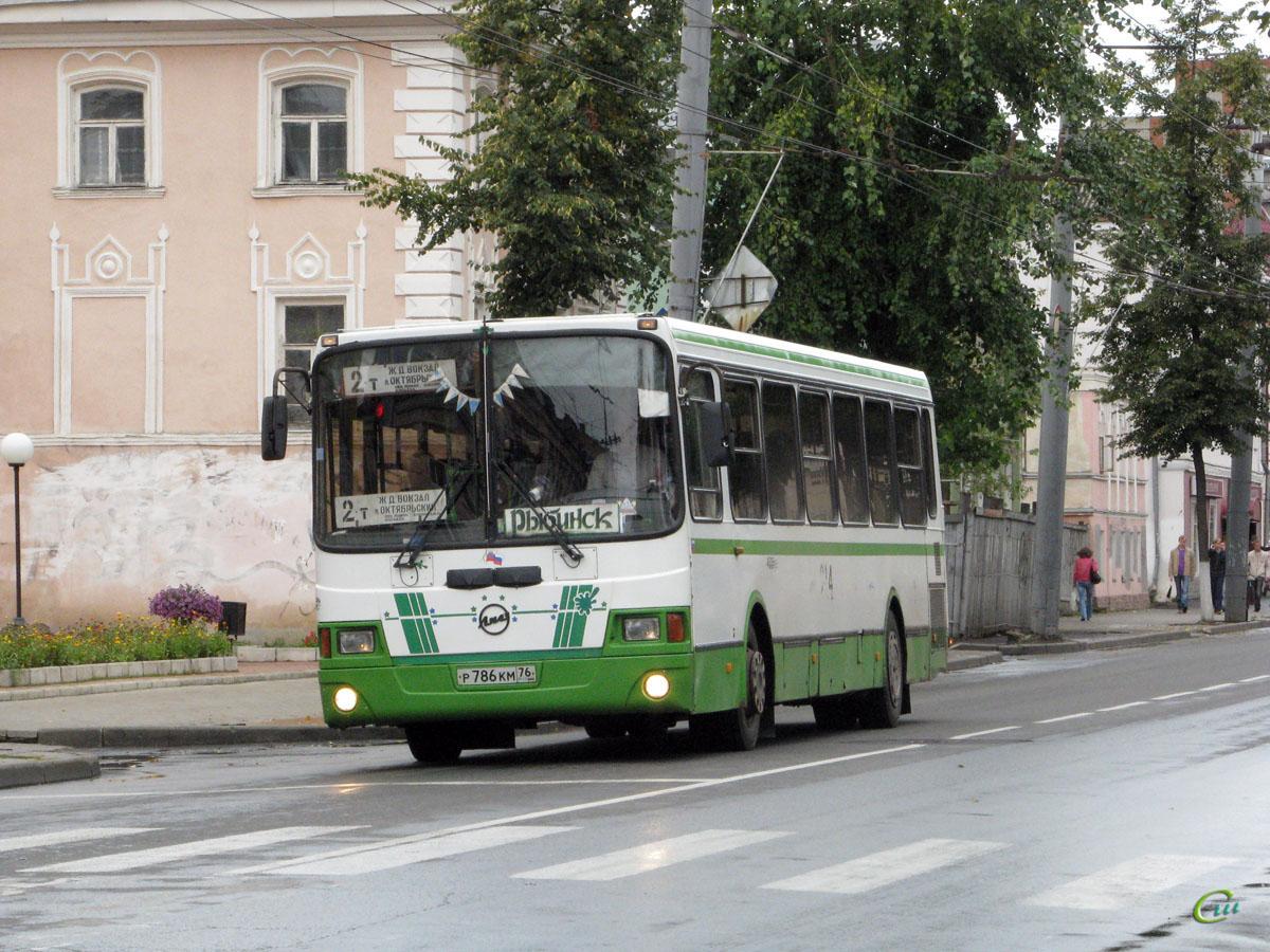 Рыбинск. ЛиАЗ-5256.45 р786км