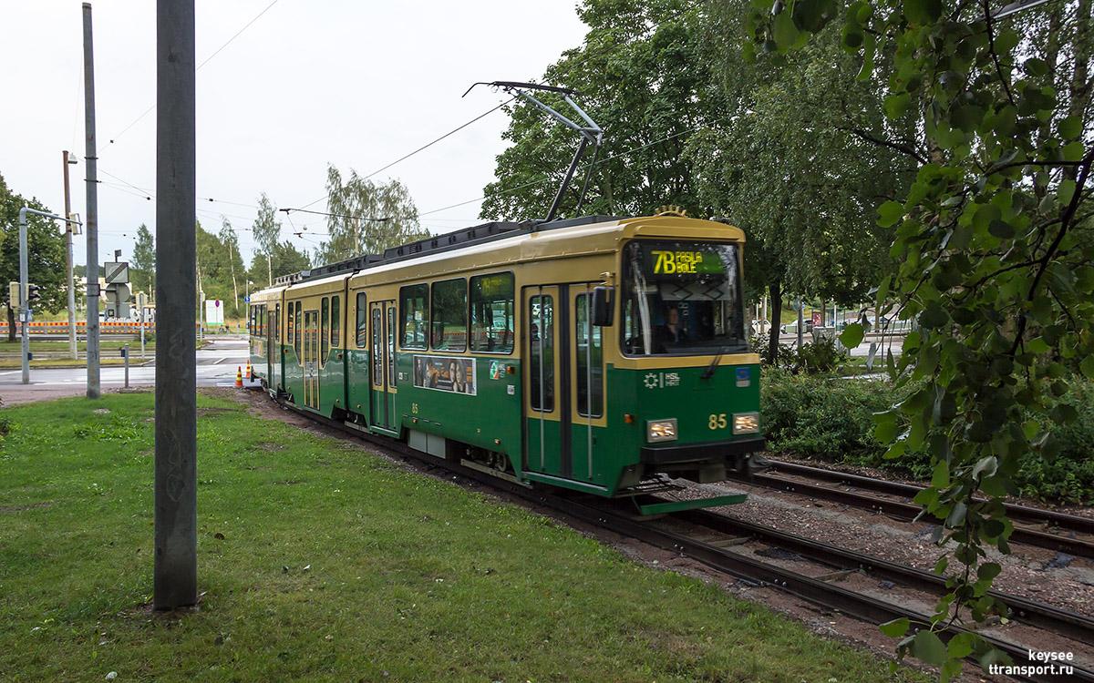 Хельсинки. Valmet Nr II №85