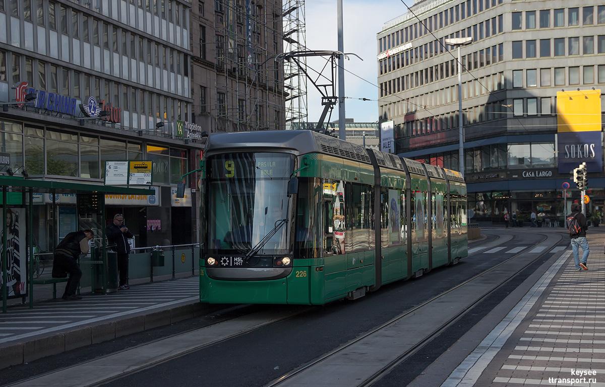 Хельсинки. Variotram №226