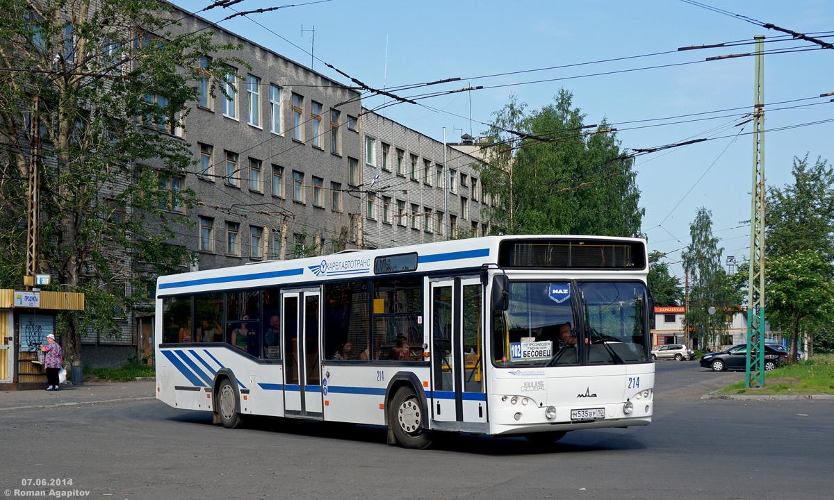 Петрозаводск. МАЗ-103.585 м535вр