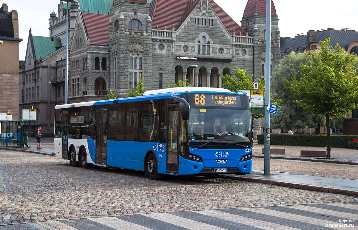 Хельсинки. VDL Citea XLE-145.310 KMC-452