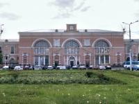 Витебск. Здание железнодорожного вокзала до реконструкции 2009-2011 гг