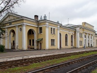 Великие Луки. Здание вокзала станции Новосокольники