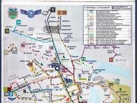 Нови-Сад. Схема маршрутов автобусов города Нови Сад (Сербия)