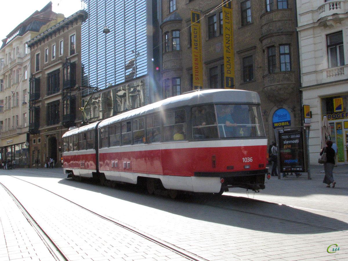 Брно. Tatra K2 №1036