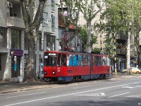 Белград. Tatra KT4 №242