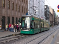 Хельсинки. Трамвай Variotram № 221, маршрут 2