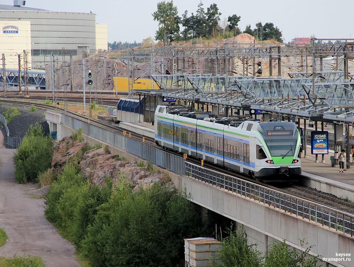 Хельсинки. Stadler FLIRT (Sm5)-18