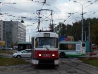 Москва. Tatra T3 (МТТЧ) №3383