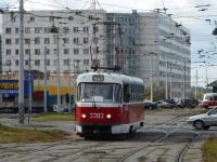 Москва. Tatra T3 (МТТЧ) №3393