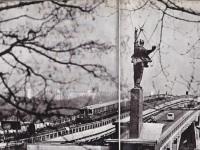 Киев. Мост метрополитена через Днепр