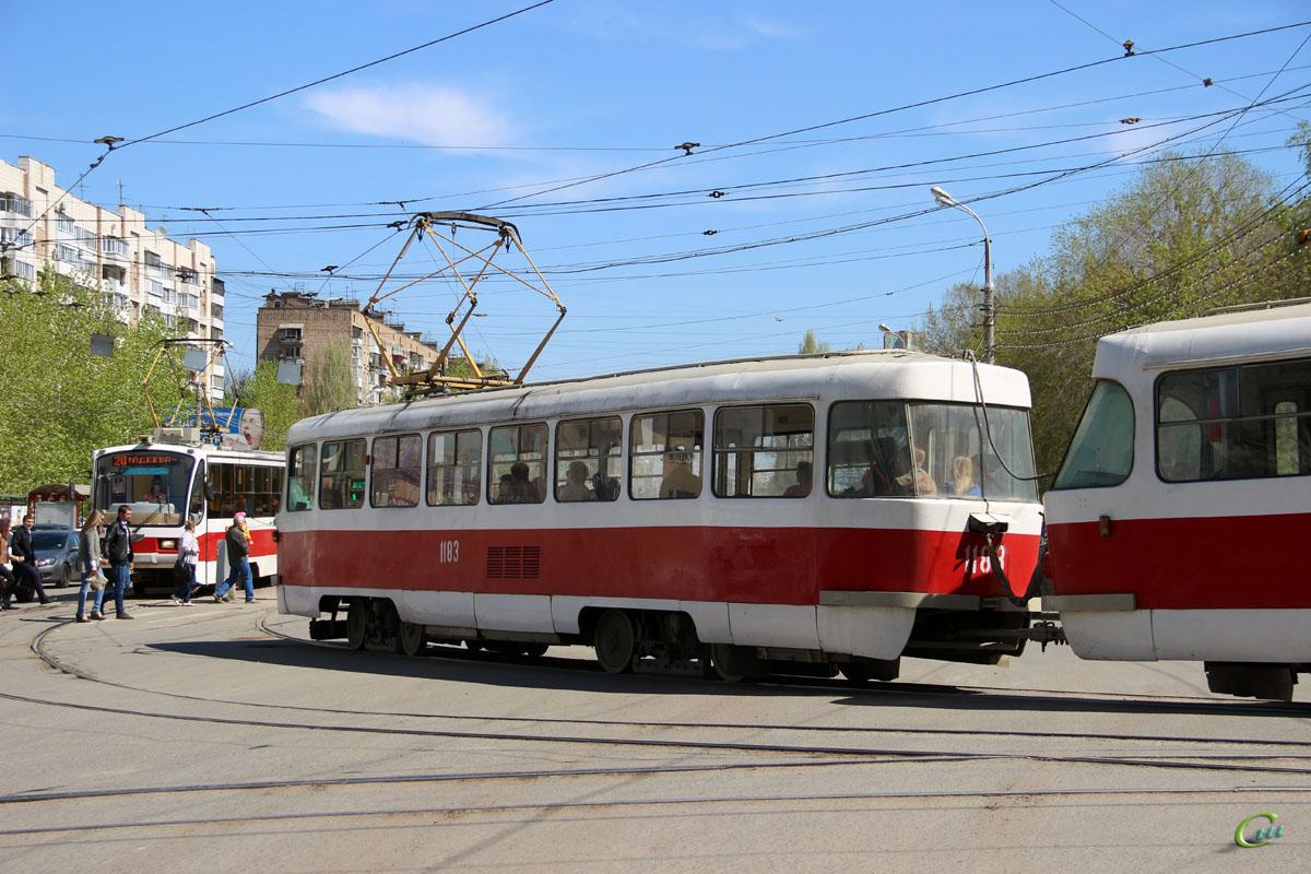 Самара. Tatra T3 №1183