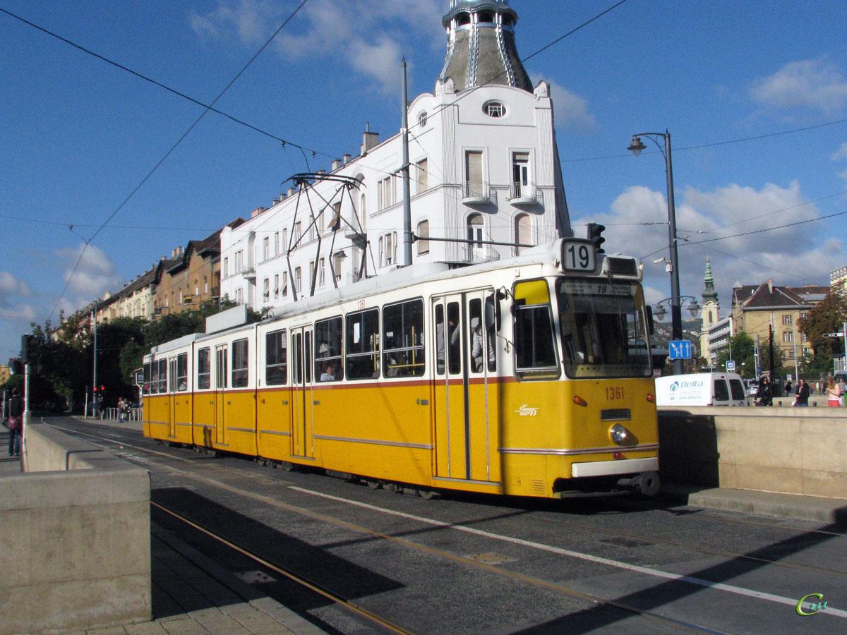 Будапешт. Ganz CSMG2 №1361