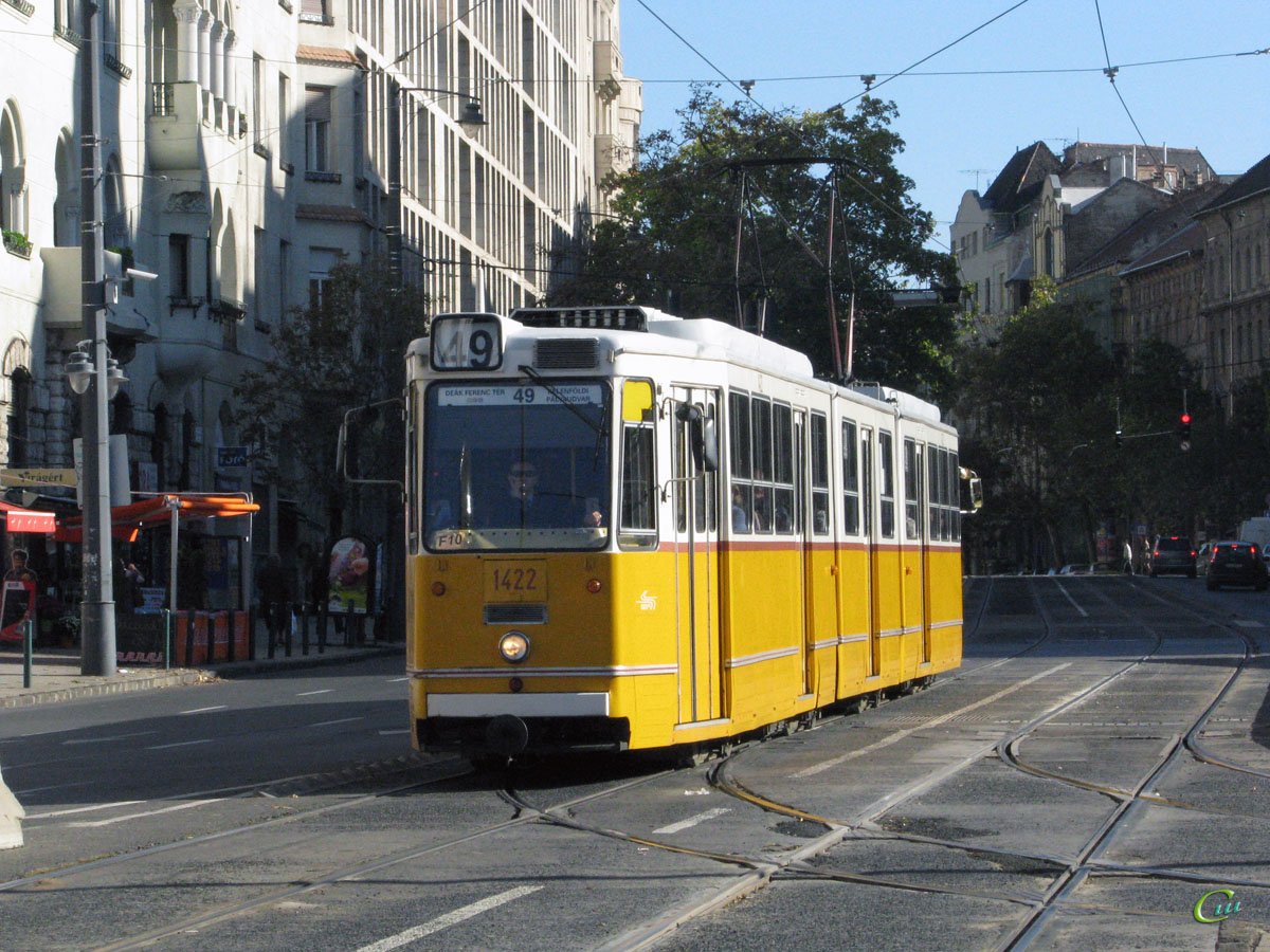 Будапешт. Ganz CSMG2 №1422
