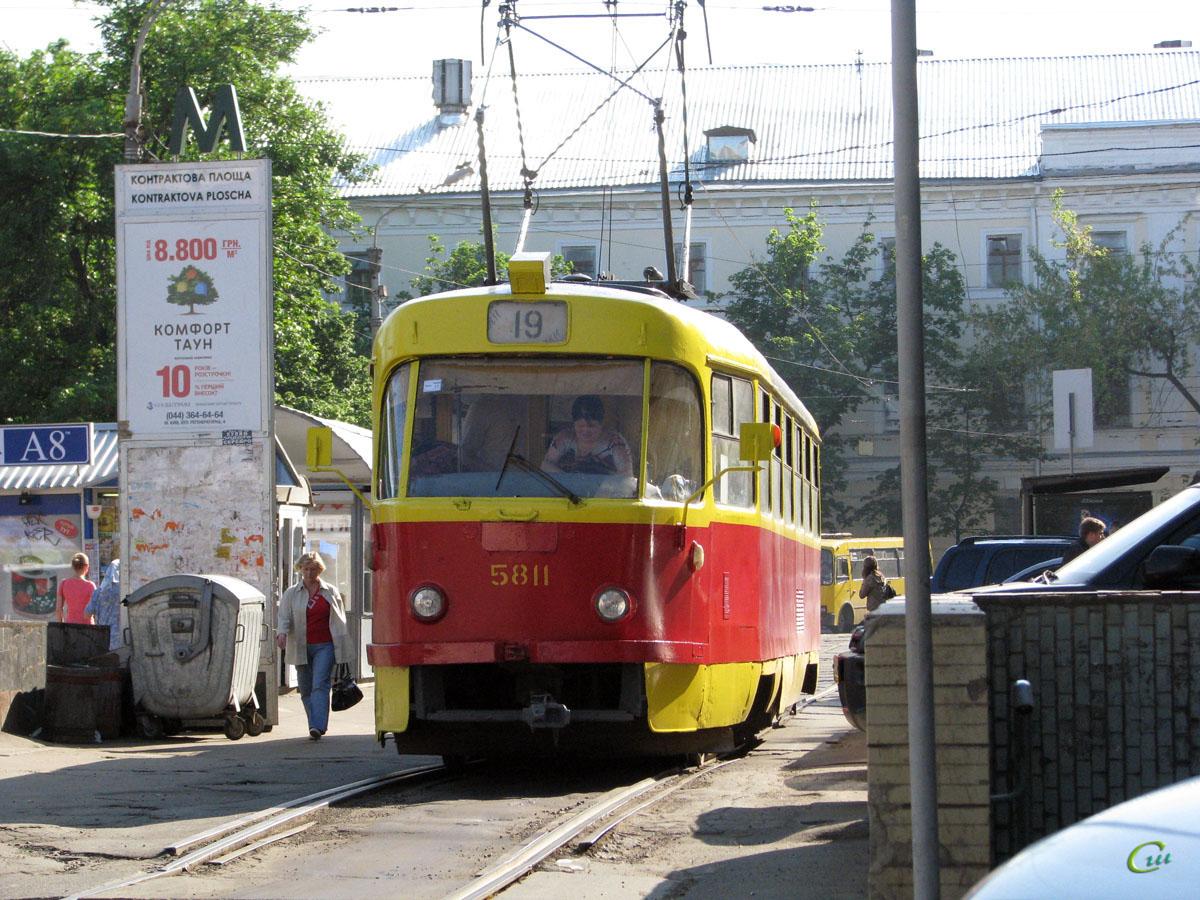 Киев. Tatra T3 №5811