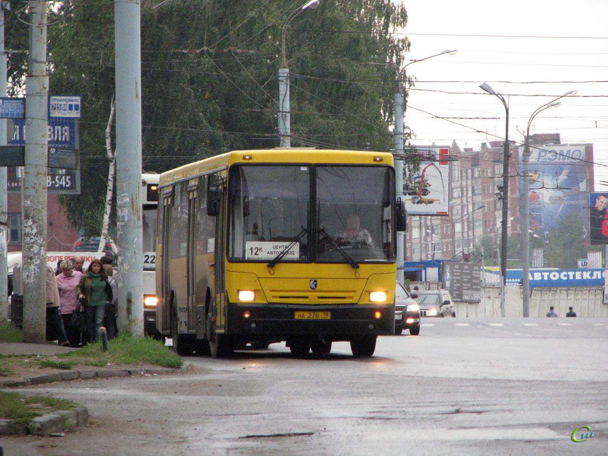 Ижевск 18 маршрут автобуса