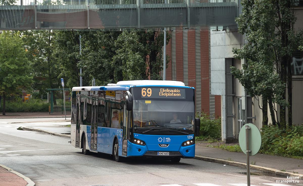 Хельсинки. VDL Citea SLE-129 KMC-463