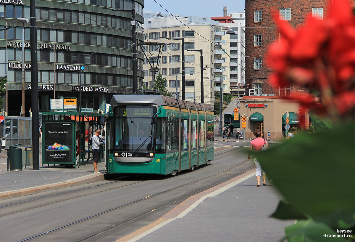 Хельсинки. Variotram №231