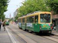 Хельсинки. Трамвай Valmet Nr II № 112, маршрут 3