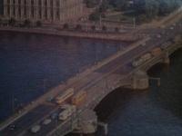 Санкт-Петербург. Трамвай ЛМ-57, троллейбусы ЗиУ-682 и ЗиУ-5