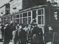 Санкт-Петербург. Открытие трамвайного движения в блокадном Ленинграде