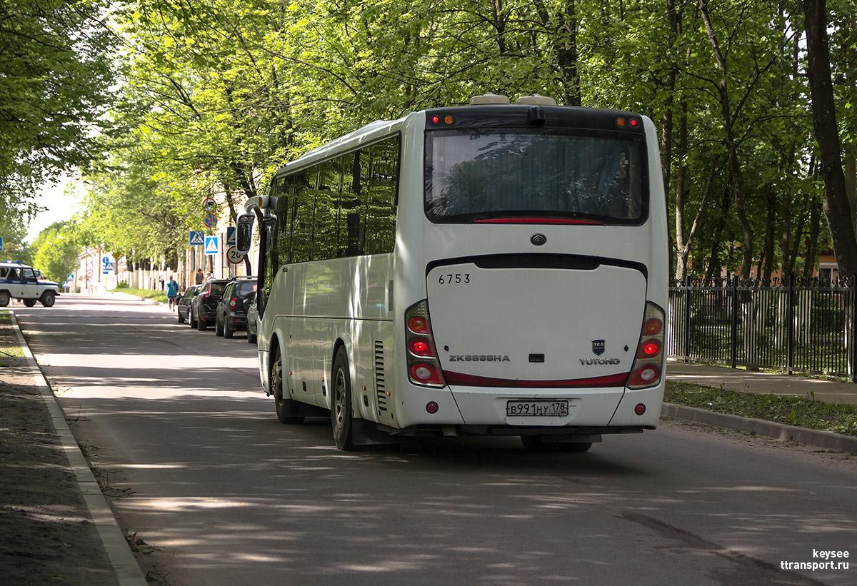 Приозерск. Yutong ZK6899HA в991ну