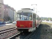 Прага. Tatra T3 №8014