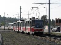 Прага. Tatra KT8D5 №9036