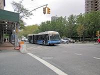 Нью-Йорк. Novabus LFS Artic M-64336