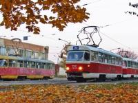 Харьков. Tatra T3SU №410, Tatra T3SU №725, Tatra T3SU №726