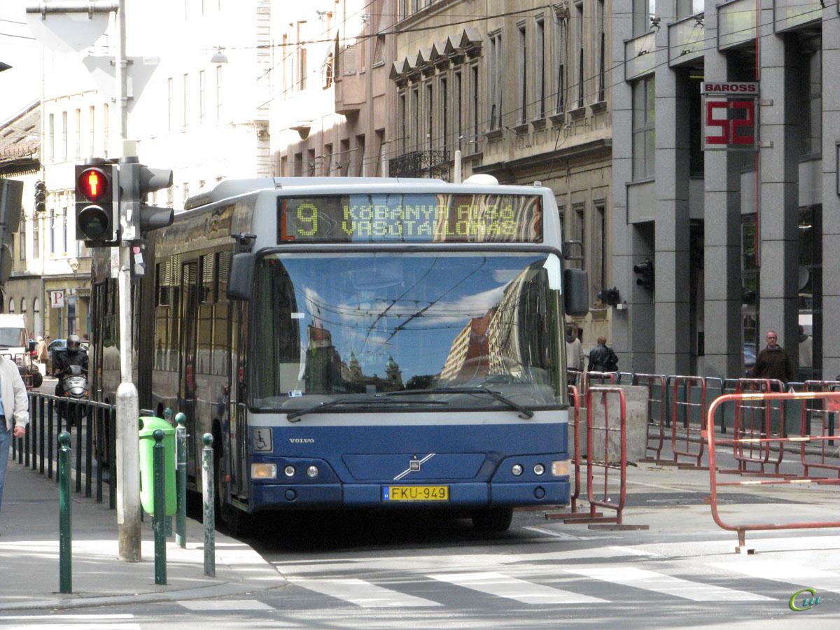 Будапешт. Volvo 7700A FKU-949