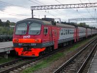 Приозерск. Электропоезд ЭД4М-0369