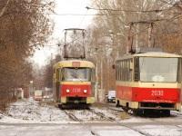 Ижевск. Tatra T3 (двухдверная) №1134, Tatra T6B5 (Tatra T3M) №2030