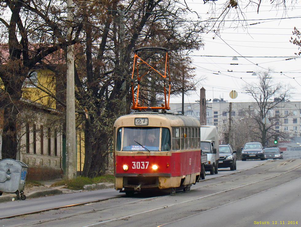 Харьков. Tatra T3SU №3037