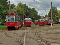 Витебск. РВЗ-6М2 №412, 71-605 (КТМ-5) №353, РВЗ-6М2 №405