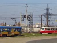 Днепропетровск. Tatra T4 №1416, Tatra T3SU №1294