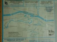 Тверь. Схема трамвайных и троллейбусных линий на 2005 год