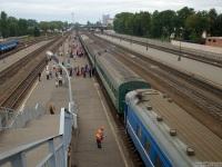 Витебск. Пассажирский вокзал станции Витебск до реконструкции 2010 года