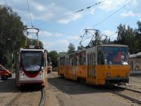 Тверь. Tatra T6B5 (Tatra T3M) №16, 71-134А (ЛМ-99АЭНМ) №171